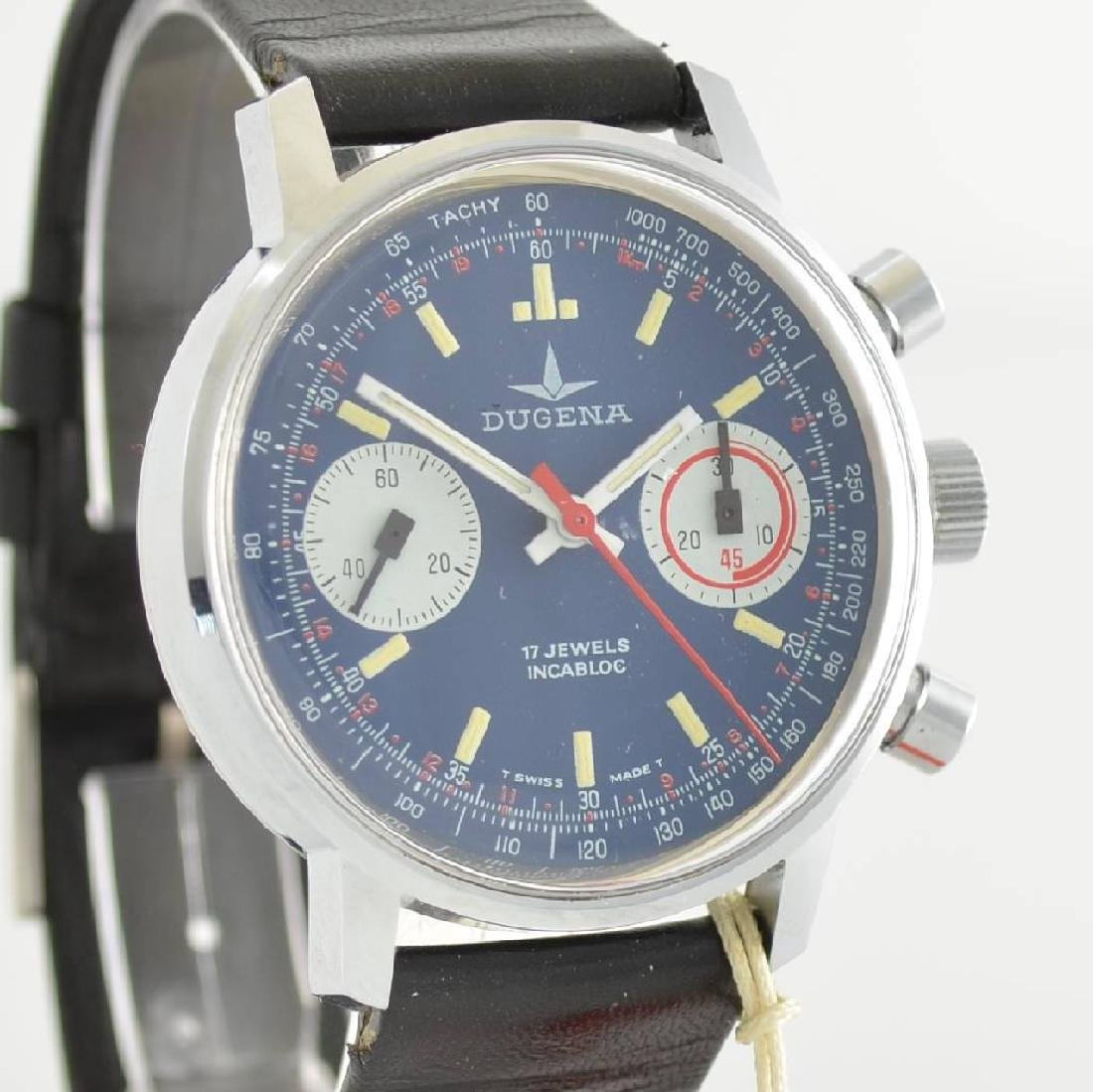 DUGENA unworn gents wristwatch with chronograph - 6
