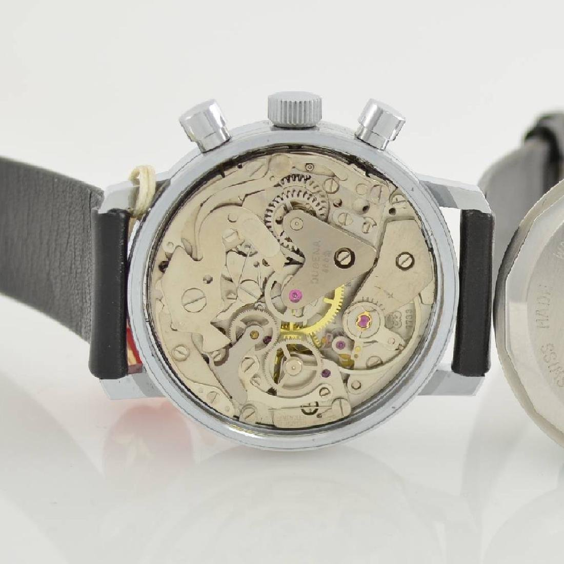 DUGENA unworn gents wristwatch with chronograph - 8