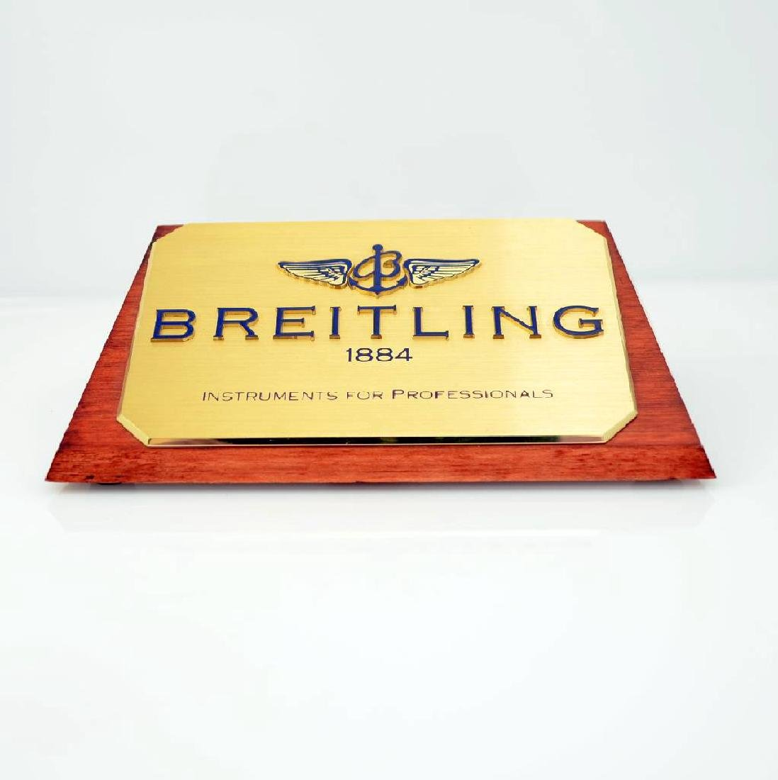 Set of 3 Breitling advertising signs