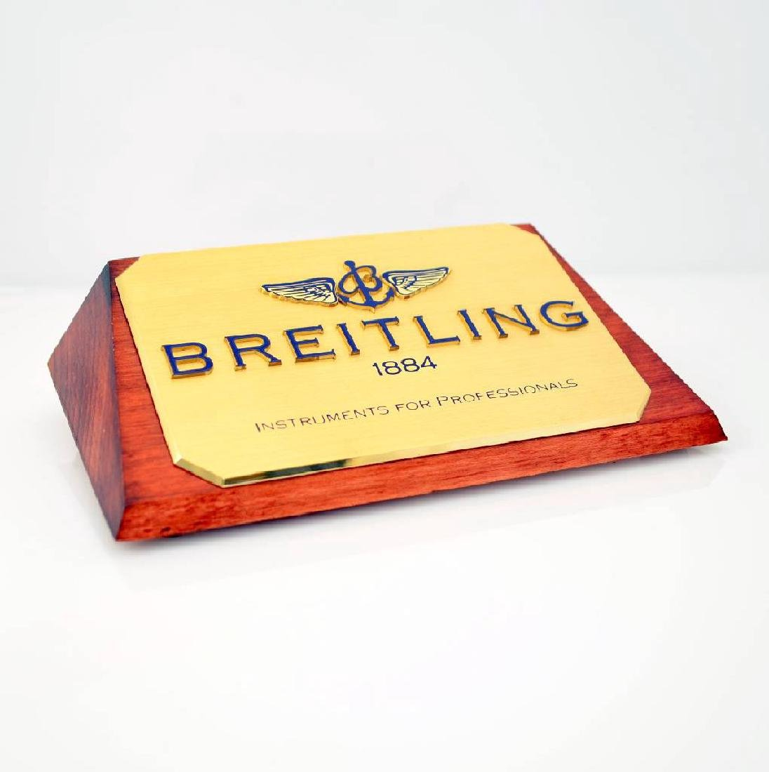 Set of 3 Breitling advertising signs - 2