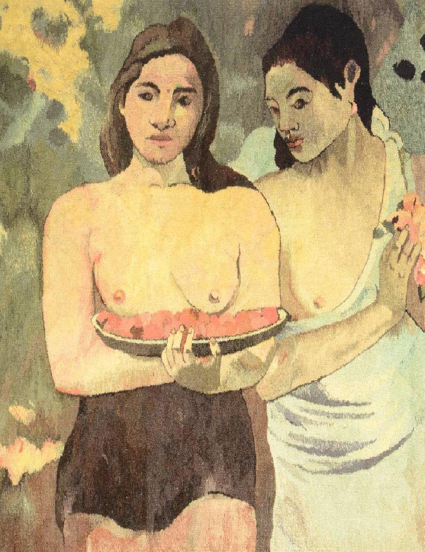 Tapestry by 'Mira Kuran' (Paul Gauguin Motive),