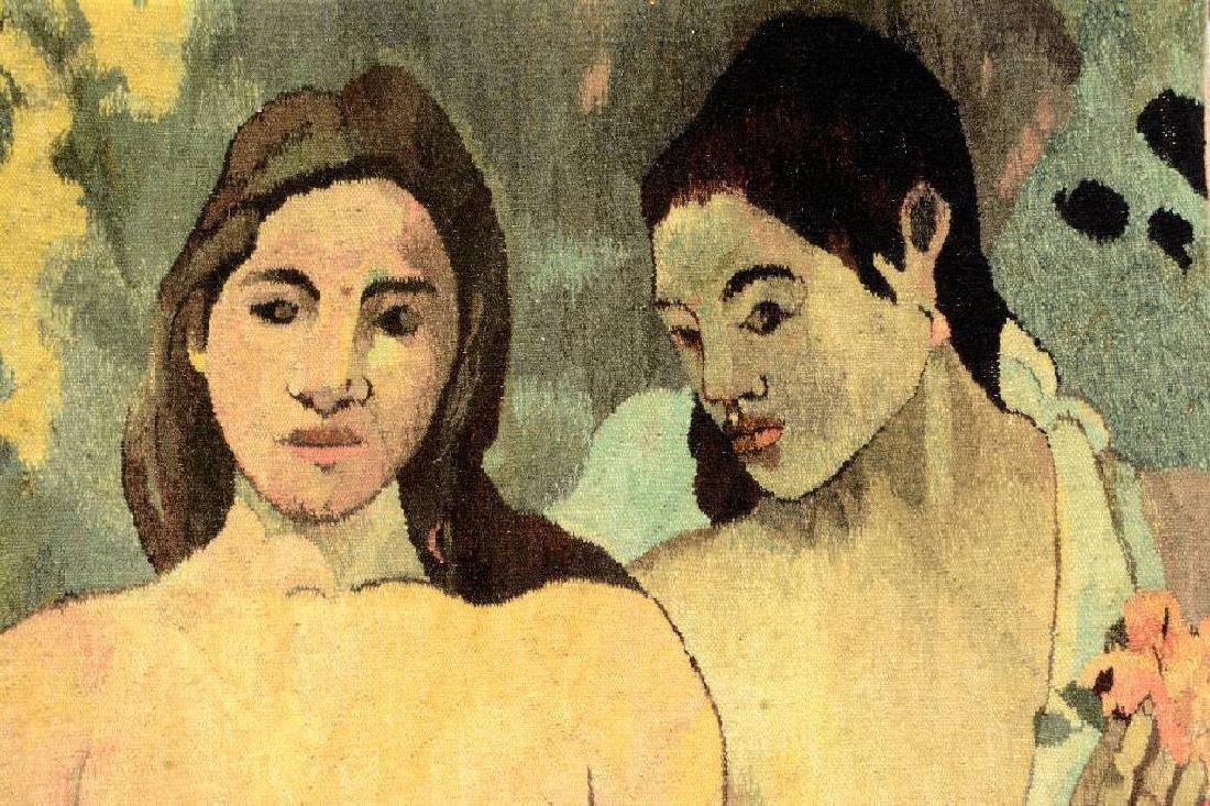 Tapestry by 'Mira Kuran' (Paul Gauguin Motive), - 2