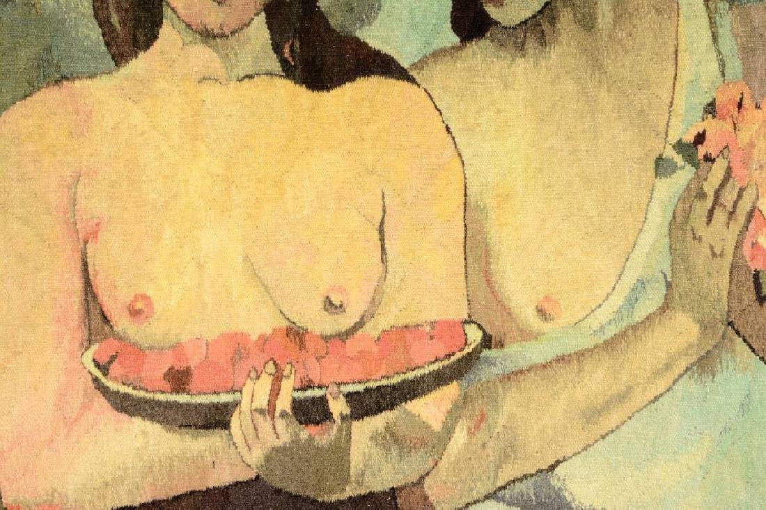 Tapestry by 'Mira Kuran' (Paul Gauguin Motive), - 3