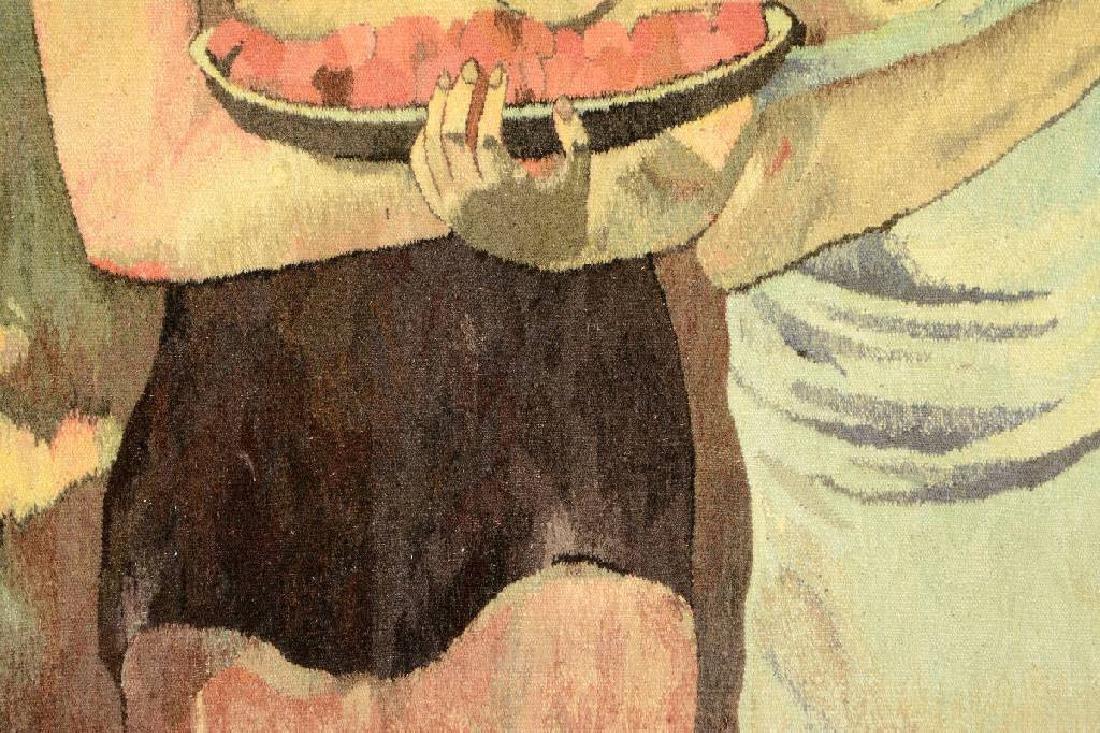 Tapestry by 'Mira Kuran' (Paul Gauguin Motive), - 4