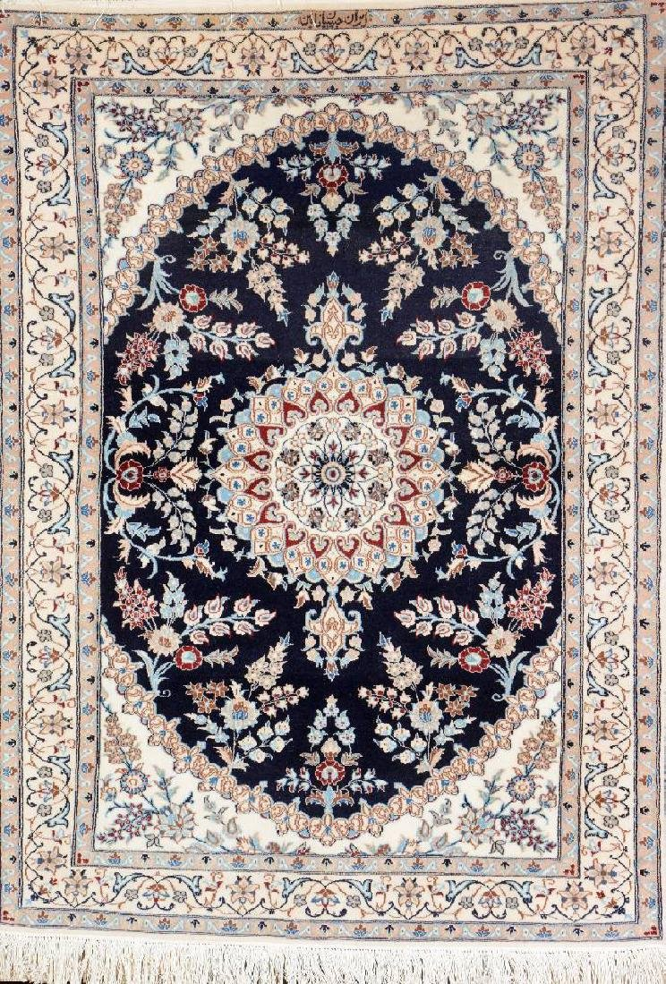 Nain-Habibian Rug 'Part-Silk' (Signed),