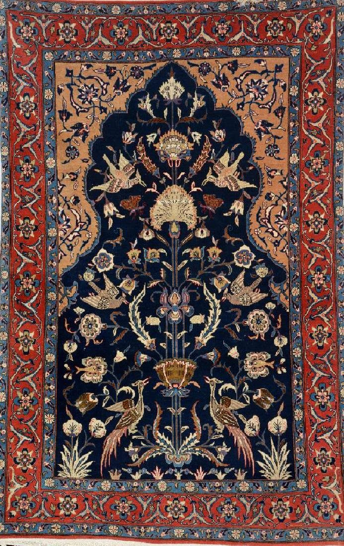 Qum Rug 'Part-Silk' (Paradise Design),