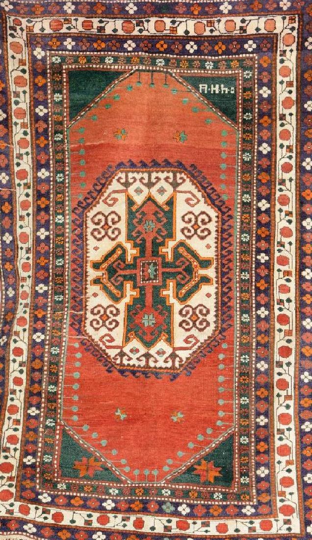 Armenian Lori Pambak Kazak Rug (Signed),