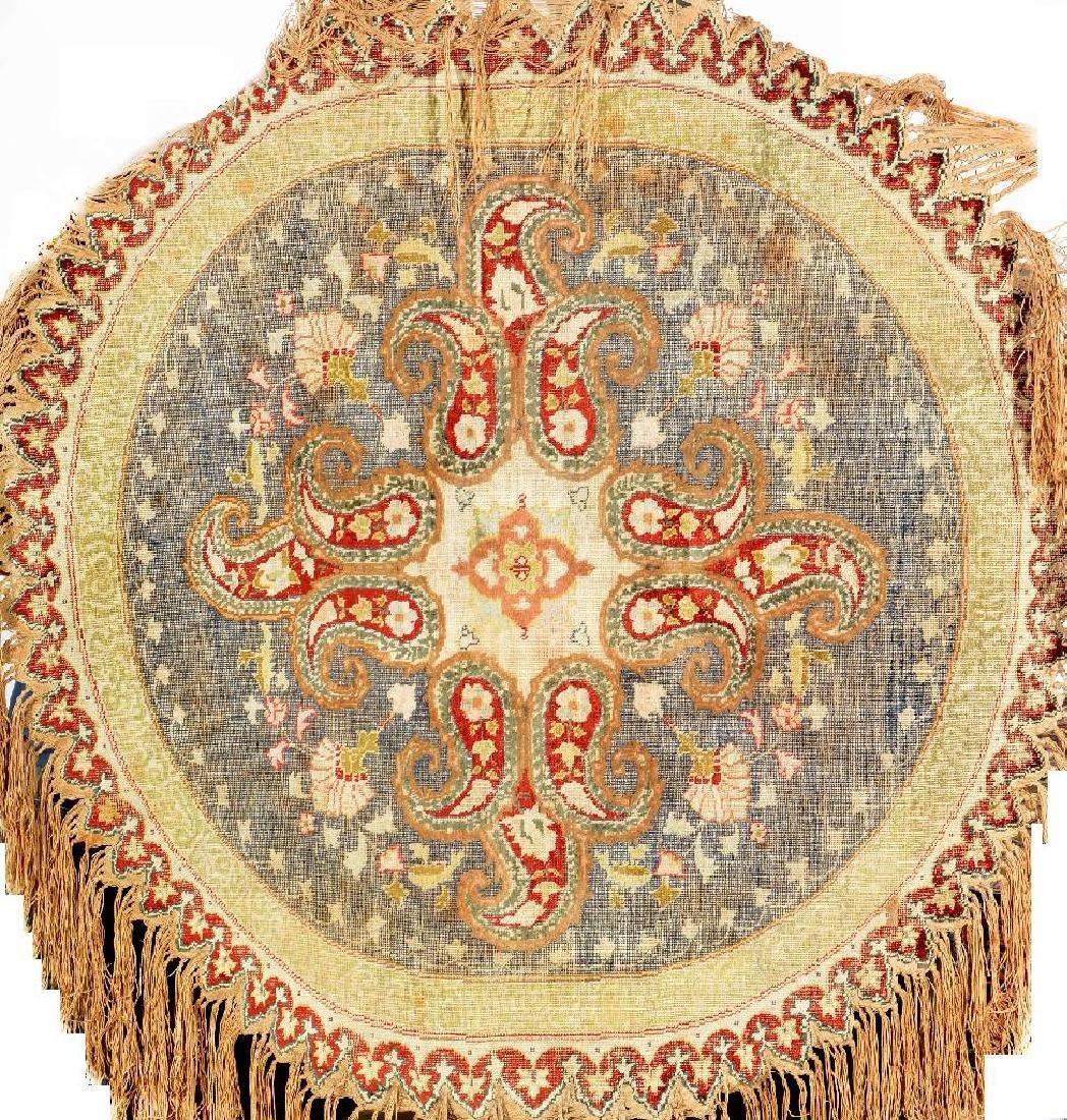 Round Silk Kaisery Rug,
