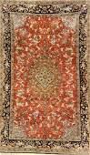Silk Qum Rug (Safavid Design),