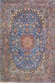 Silk Grounded Isfahan Rug,
