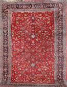 Kurk Kashan Carpet 'Part-Silk' (Signed),