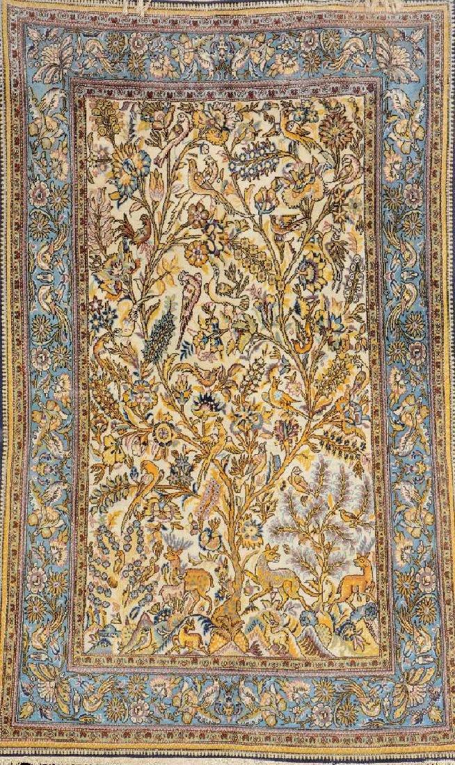 Qum Rug (Part-Silk),