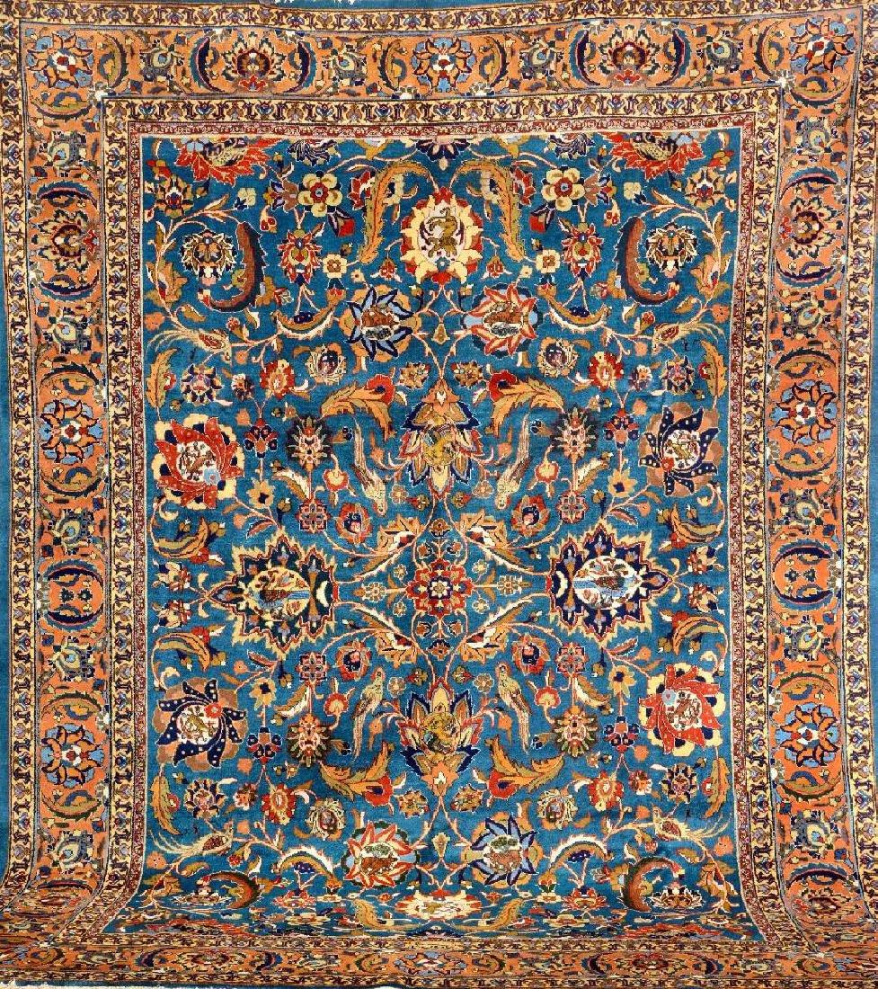 Tabriz Carpet (Signed),