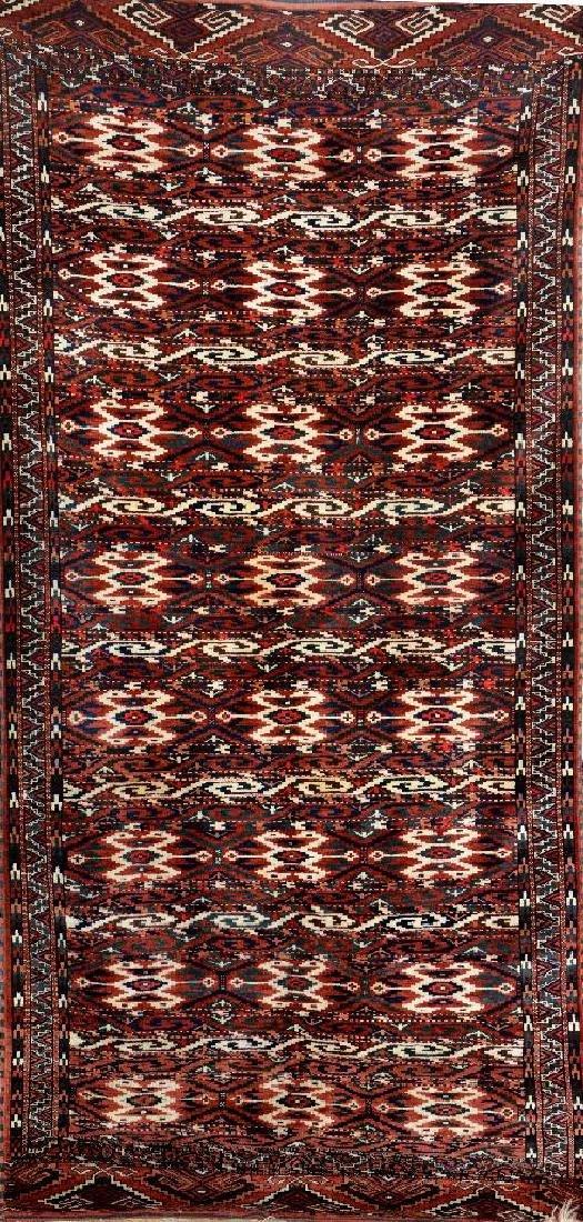 Yomud 'Main-Carpet' (Kilim Pattern),