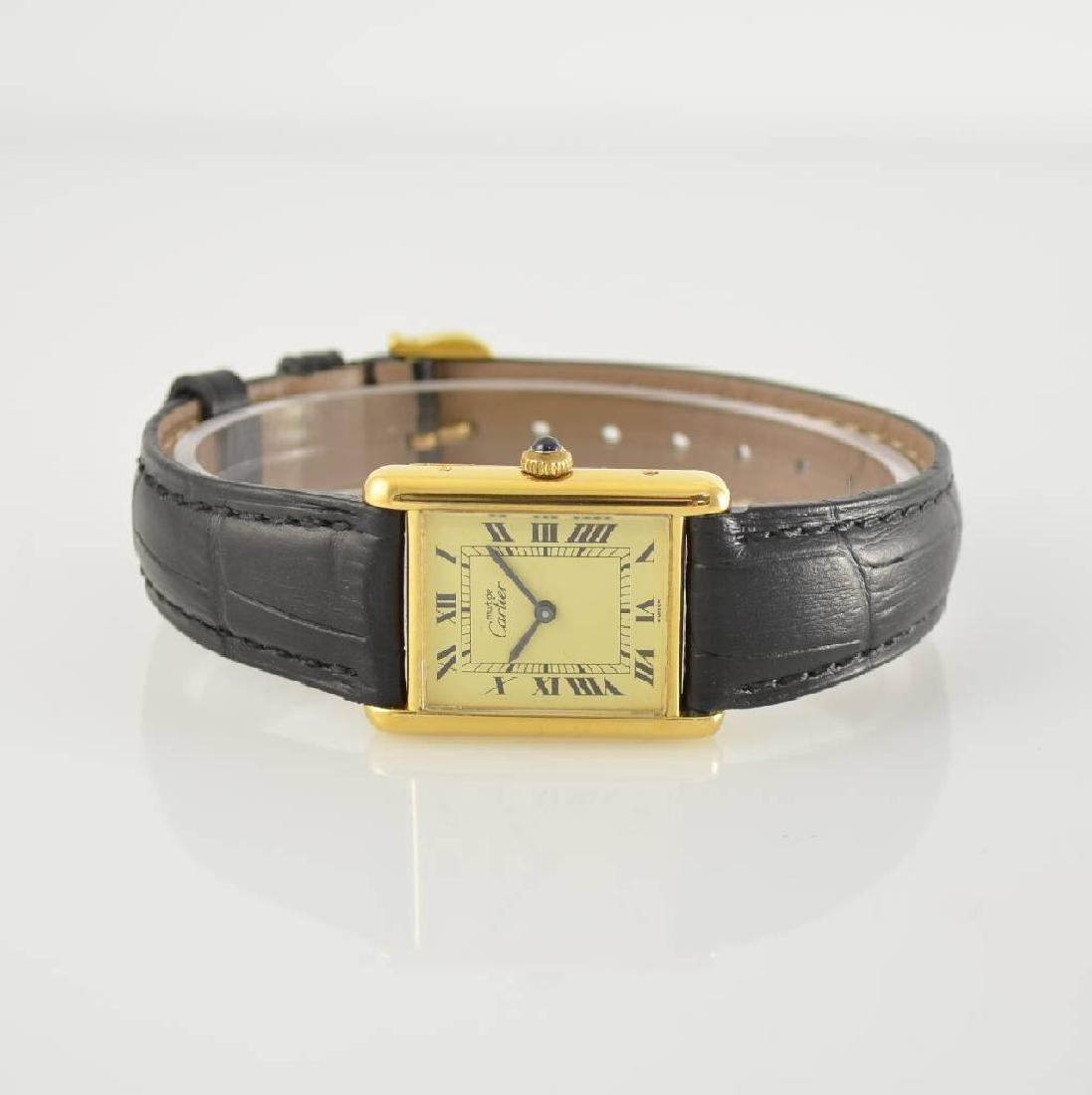 CARTIER Tank wristwatch, Switzerland around 1980
