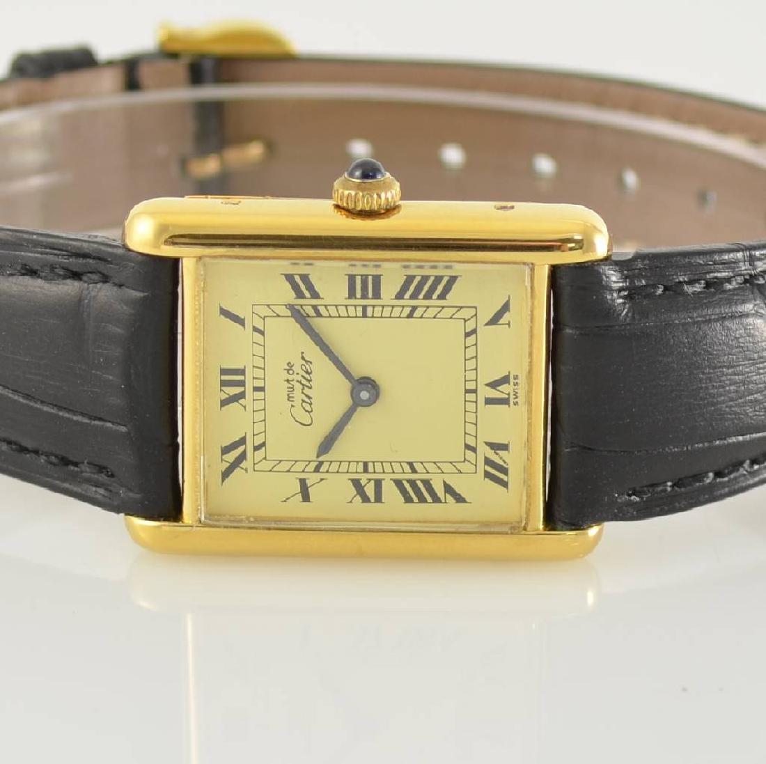 CARTIER Tank wristwatch, Switzerland around 1980 - 2