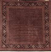 'Part-Silk' Chinese Tabriz 'Square Rug',