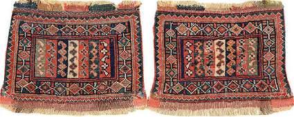 A Pair Of Varamin Bag Faces