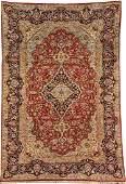 Silk Kashan 'Rug',