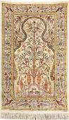 Silk Hereke 'Tree Of Life Rug' (Signed),