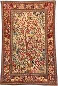 Isfahan 'Ahmad' Rug (Tree Of Life Design),