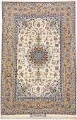 Fine 'Part-Silk' Isfahan 'Ali Dardashti' 12 Kheft-Rug