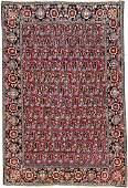 Varamin 'Rug' (Boteh Design With Mina-Khani Border),