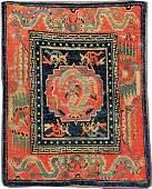 Tibetan Gyantse 'Goyul' (Dragon-Phoenix Design),