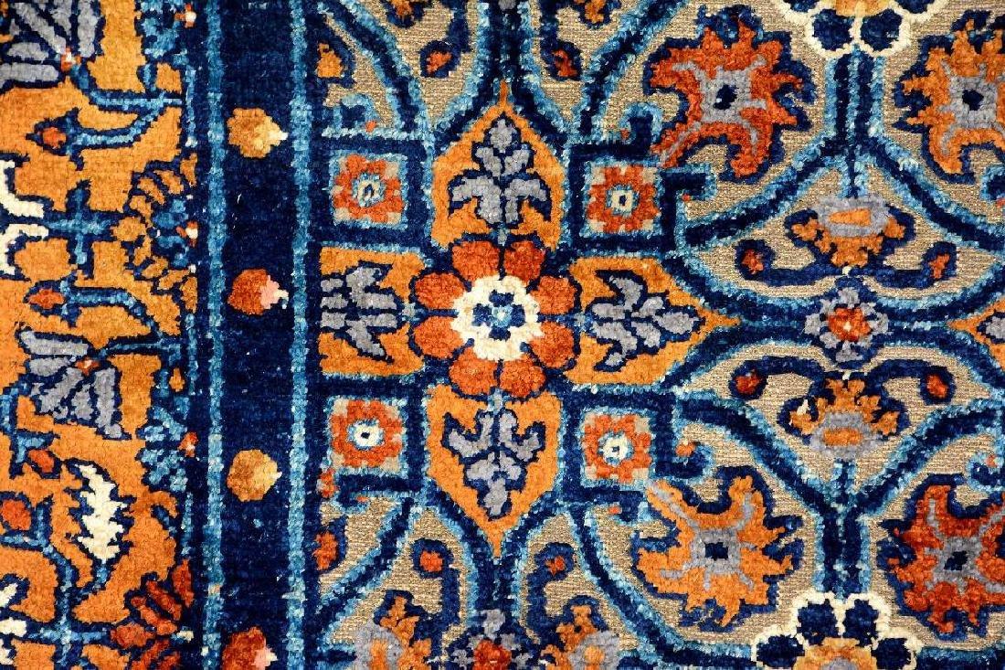 Important Early Silk & Gold-Metal-Thread Khotan 'Palace - 12