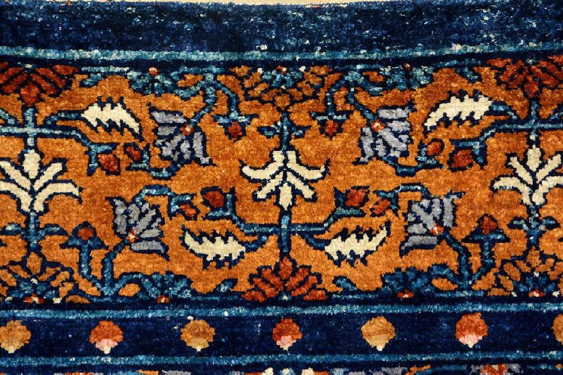 Important Early Silk & Gold-Metal-Thread Khotan 'Palace - 16