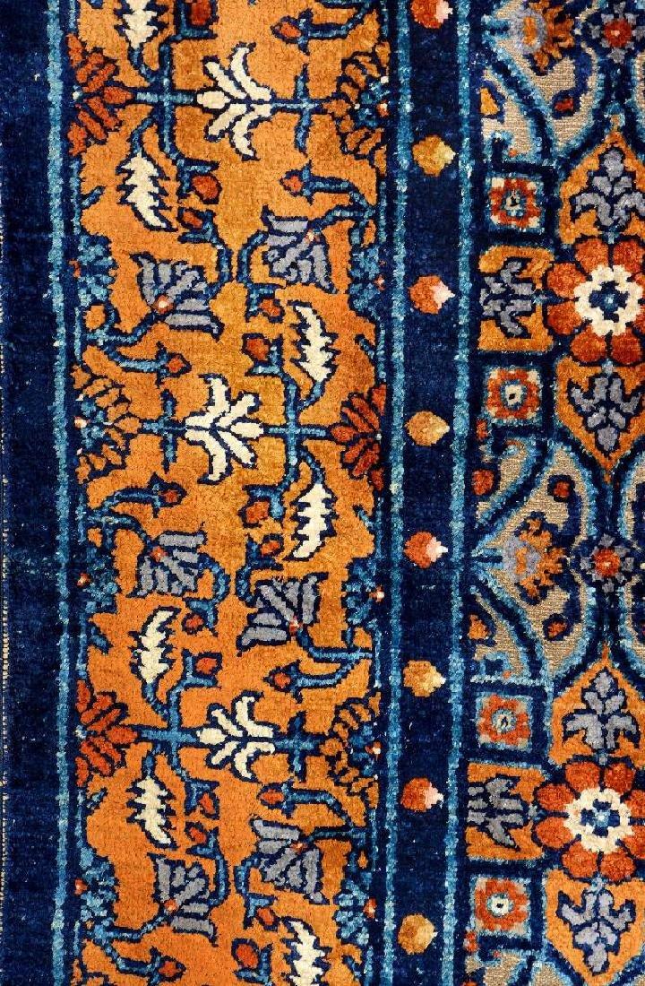 Important Early Silk & Gold-Metal-Thread Khotan 'Palace - 17