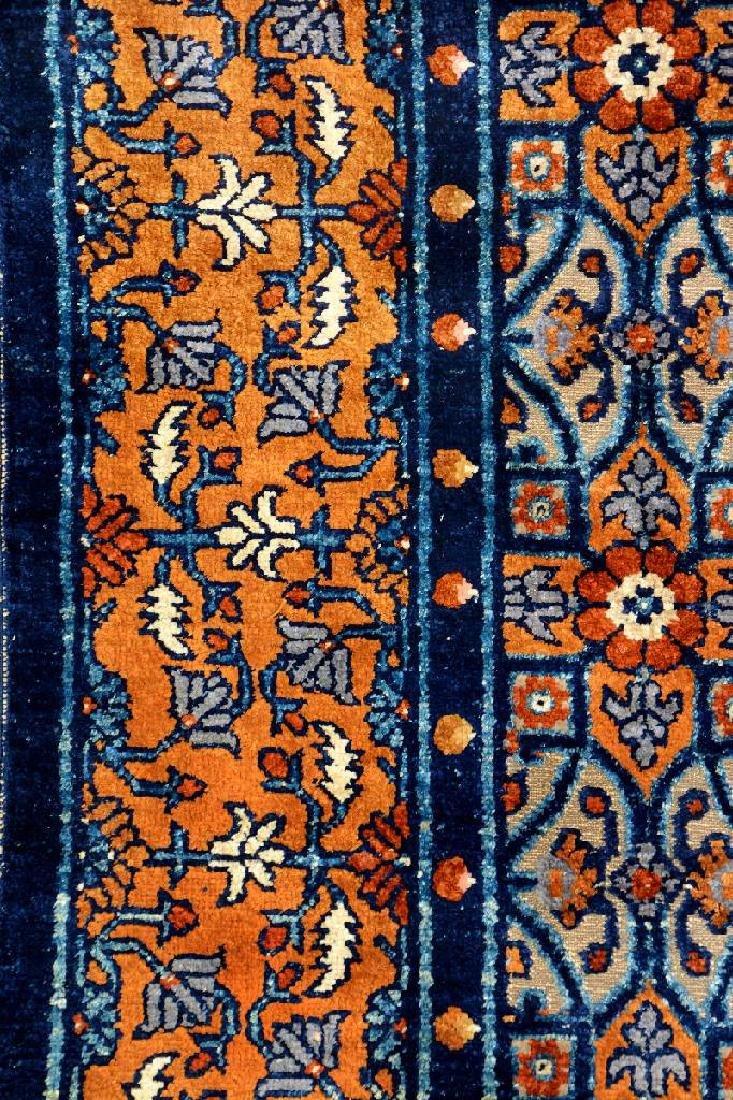 Important Early Silk & Gold-Metal-Thread Khotan 'Palace - 18