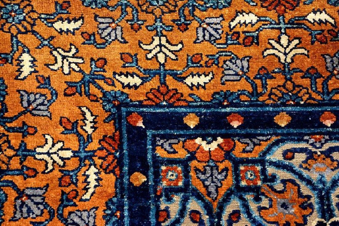 Important Early Silk & Gold-Metal-Thread Khotan 'Palace - 19