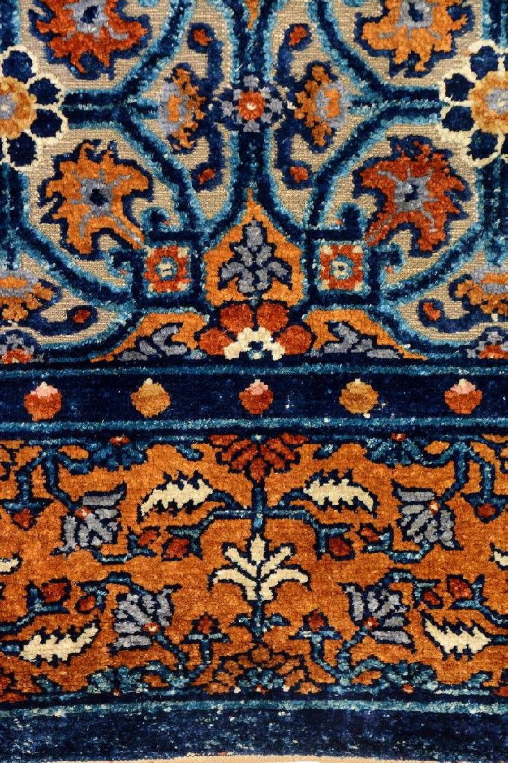 Important Early Silk & Gold-Metal-Thread Khotan 'Palace - 20