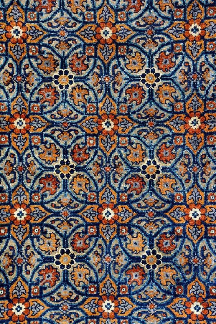 Important Early Silk & Gold-Metal-Thread Khotan 'Palace - 7