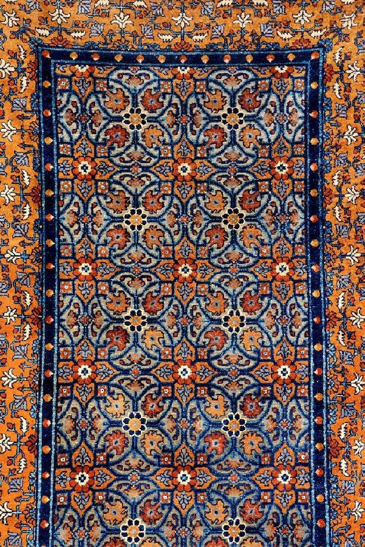 Important Early Silk & Gold-Metal-Thread Khotan 'Palace - 9