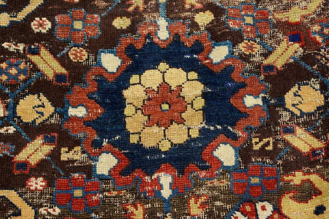 Early Caucasian 'Blossom Rug', - 10