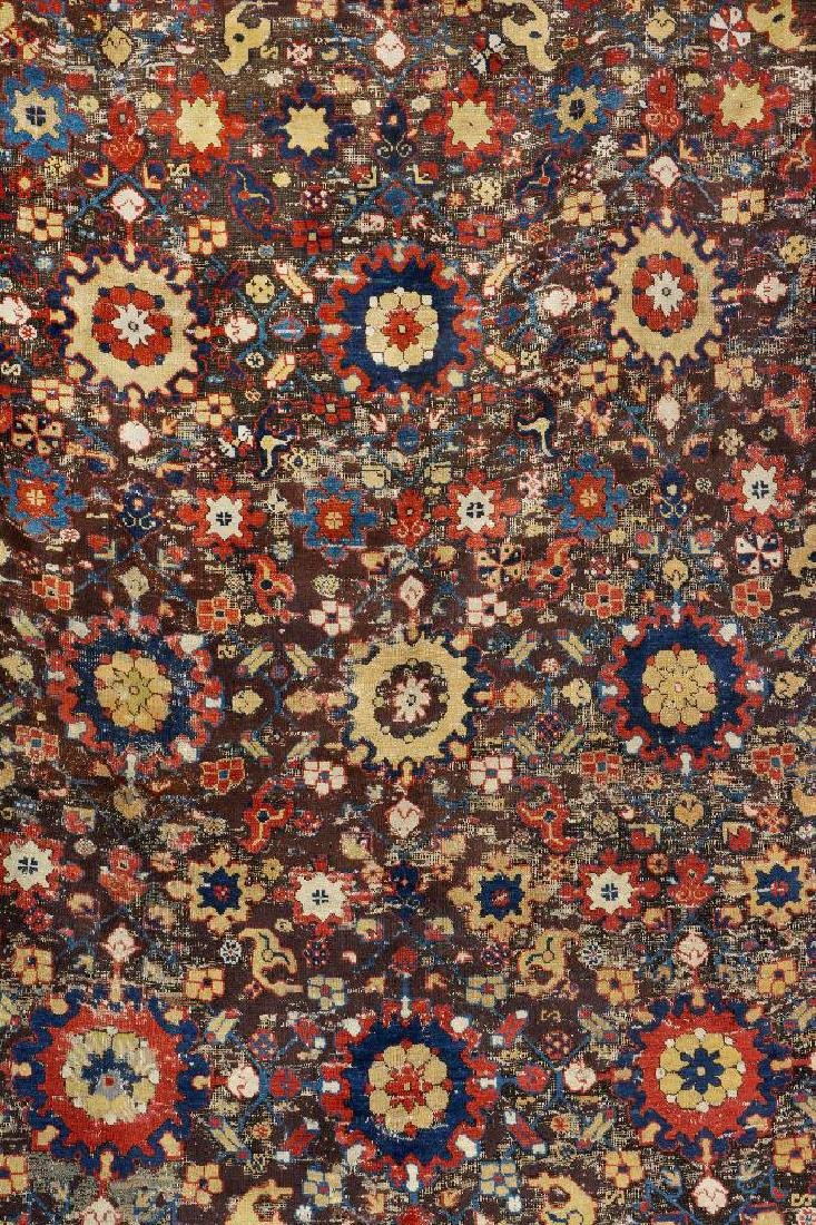 Early Caucasian 'Blossom Rug', - 2