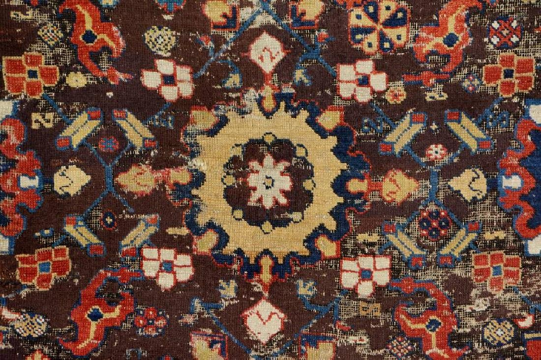 Early Caucasian 'Blossom Rug', - 3