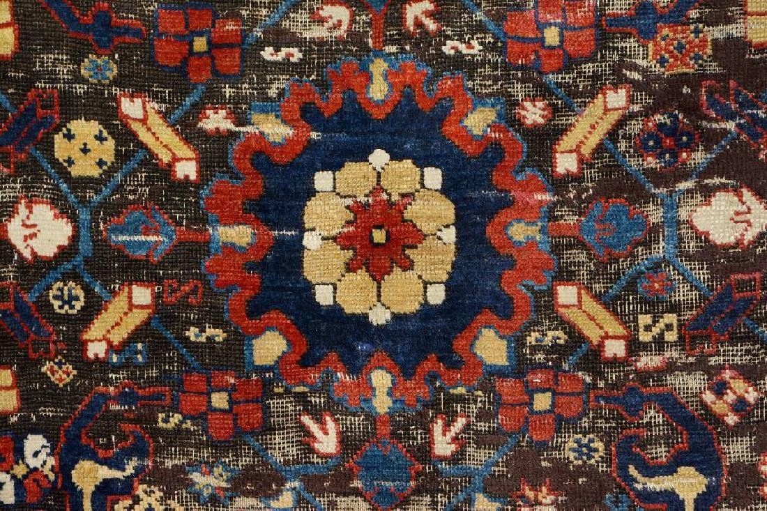 Early Caucasian 'Blossom Rug', - 4