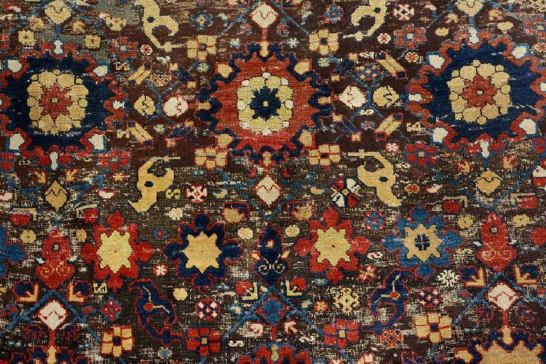 Early Caucasian 'Blossom Rug', - 6