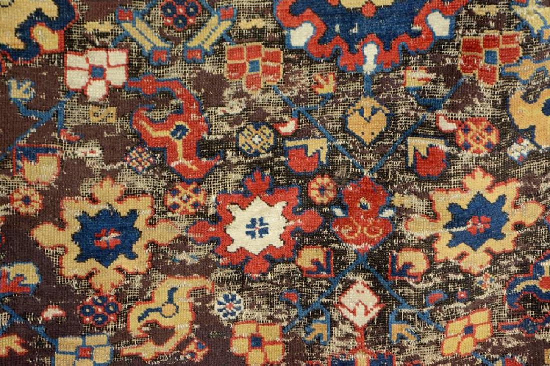 Early Caucasian 'Blossom Rug', - 7