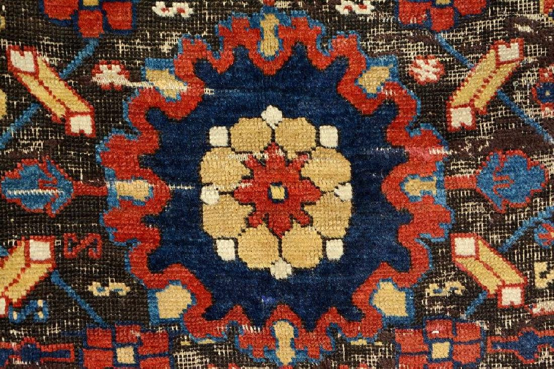 Early Caucasian 'Blossom Rug', - 9
