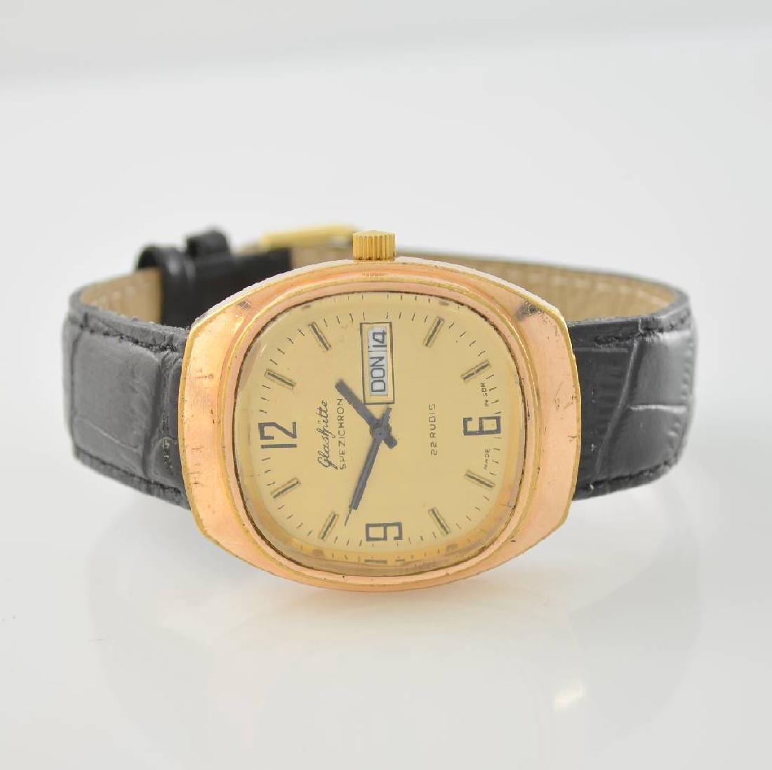 GLASHUTTE Spezichron gents wristwatch