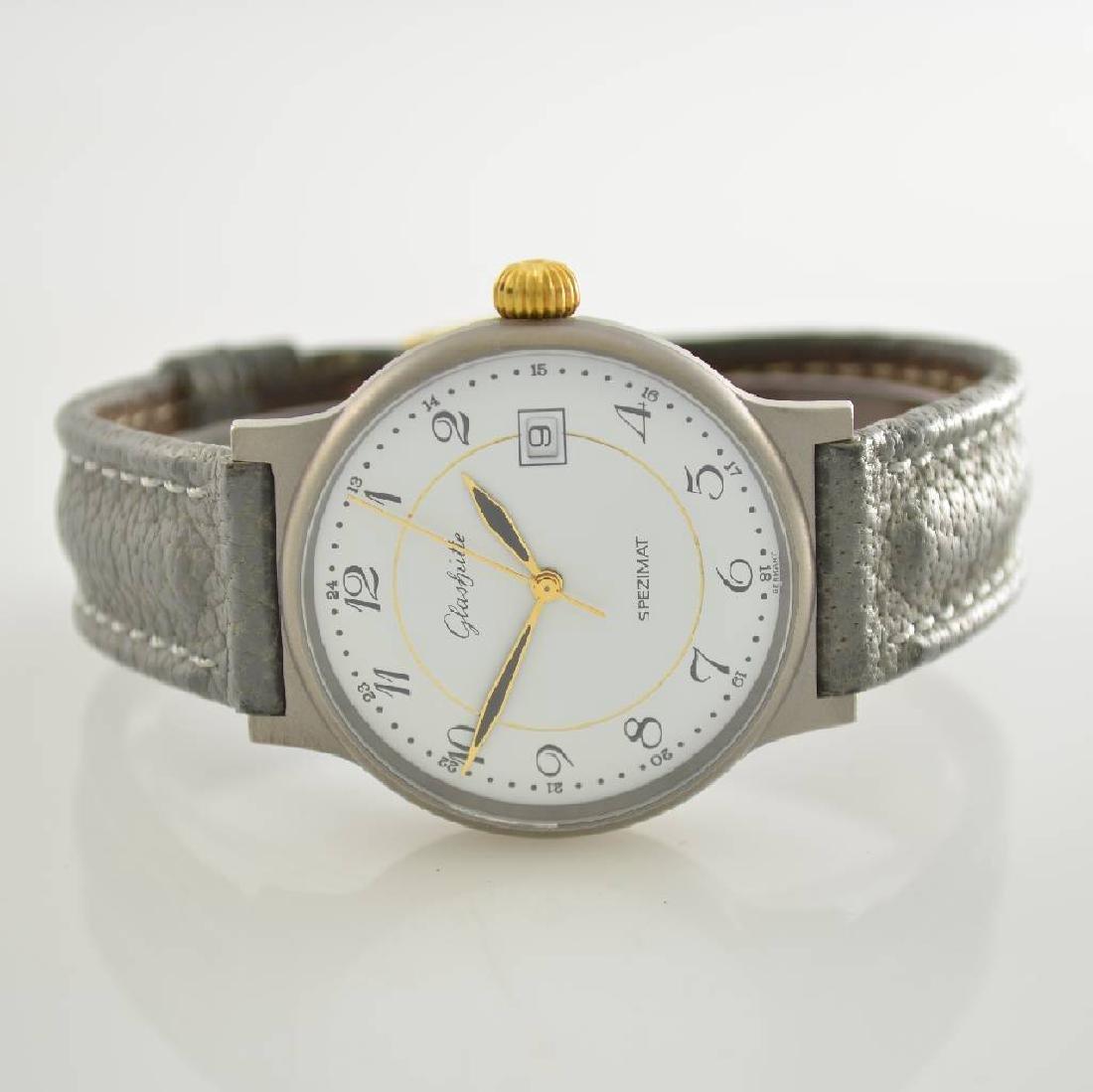 GLASHUTTE gents wristwatch model Spezimat