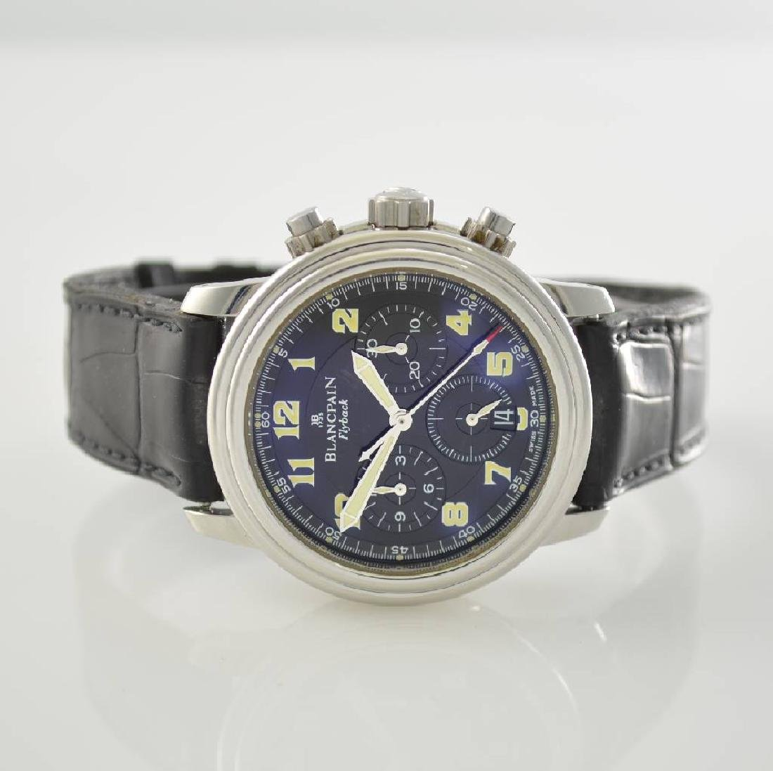 BLANCPAIN Flyback gents wristwatch with chronograph