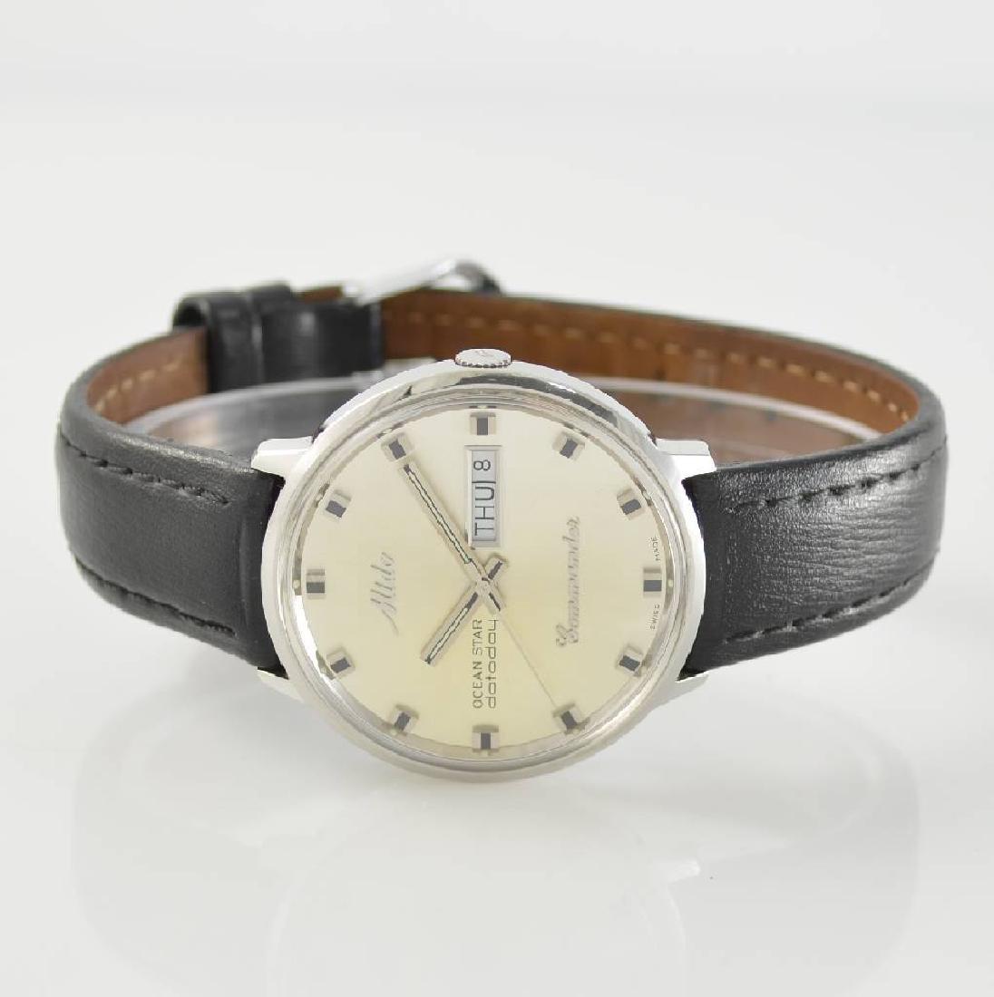 MIDO gents wristwatch Ocean Star datoday Commander
