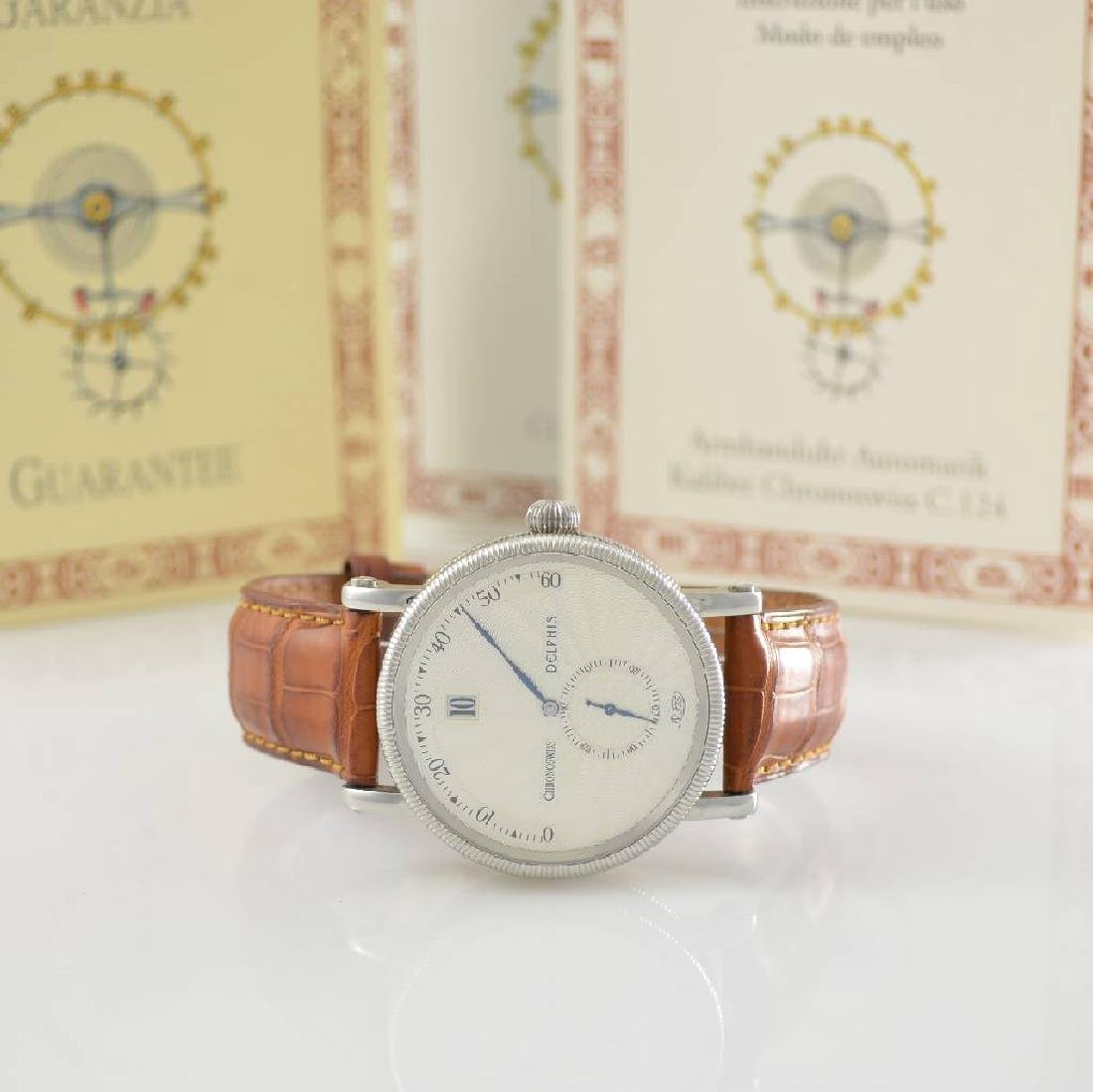 CHRONOSWISS Delphis gents wristwatch in steel