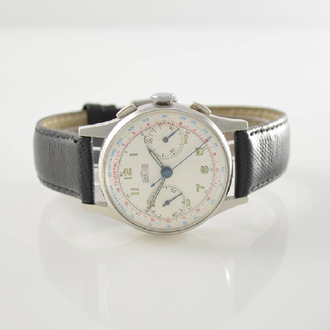 ANGELUS manual wound intermediate wheel chronograph