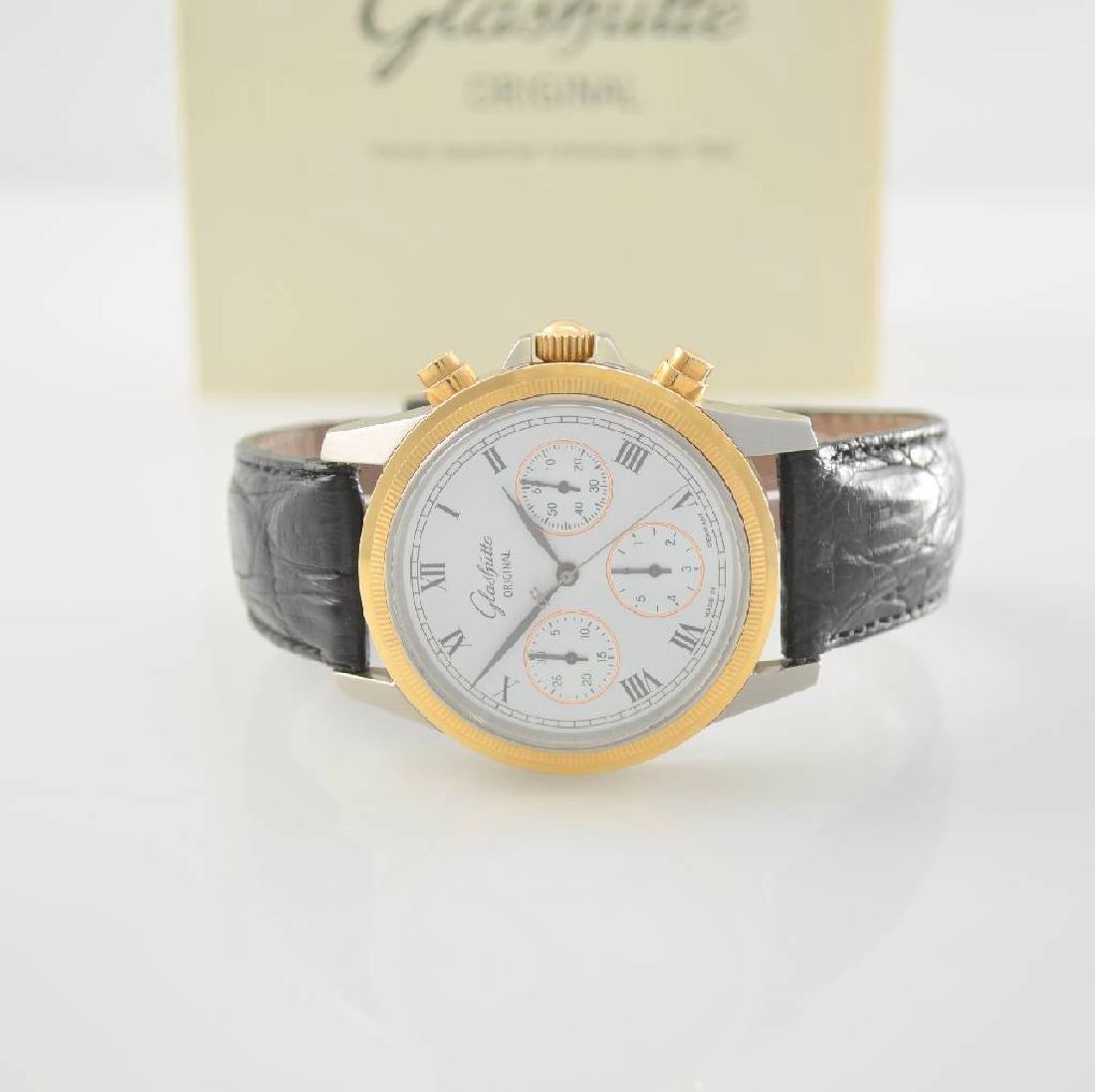 GLASHUTTE ORIGINAL gents wristwatch with chronograph